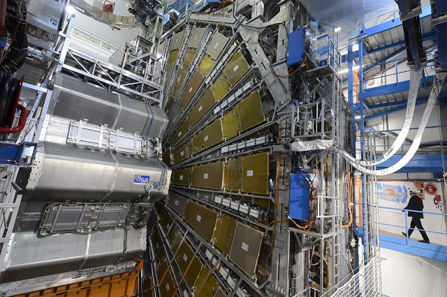 Will the Collider Open Up a New Dimension?